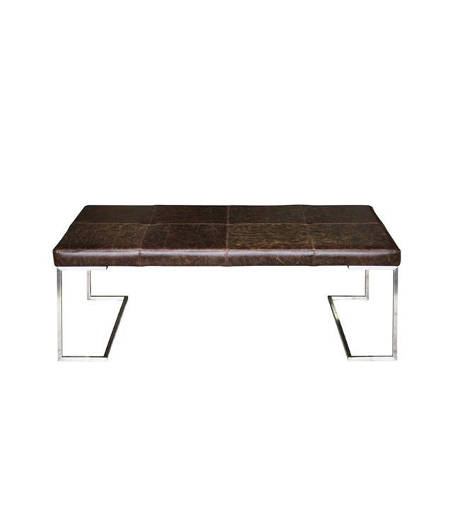 Atticus Leather Coffee Table