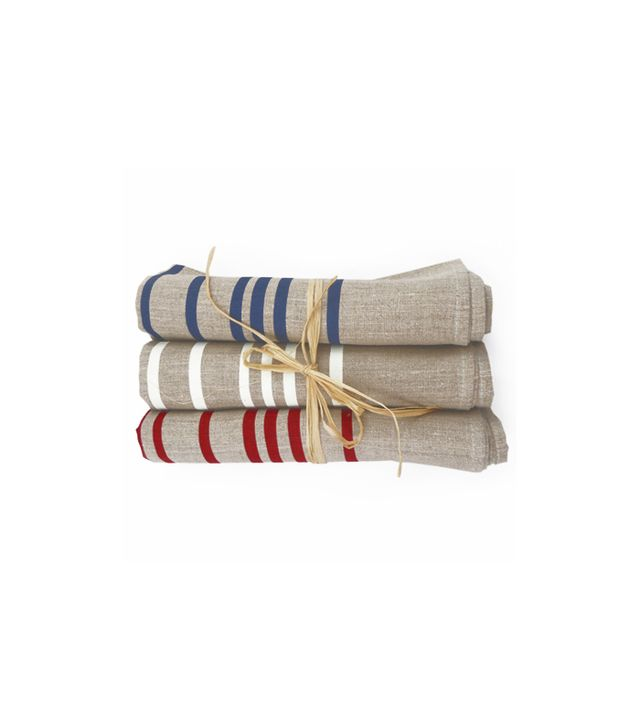 Thea and Sami French Stripe Tea Towel