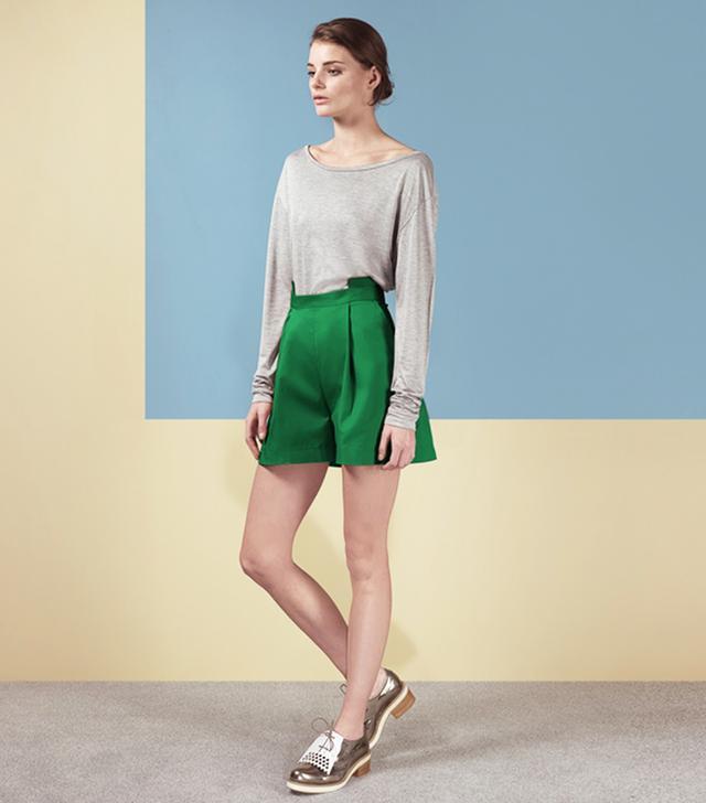 Finery Olinda Tailored Shorts