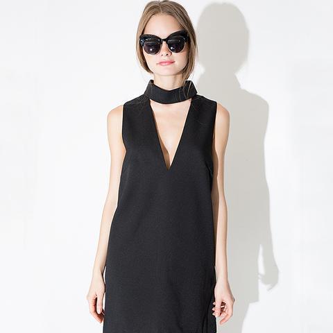 Say It Right Black Dress