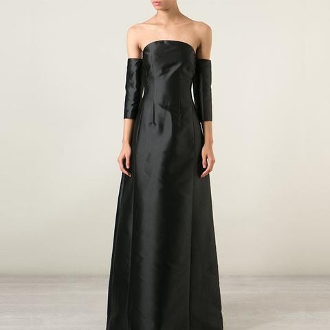 Sheath-Sleeve Gown