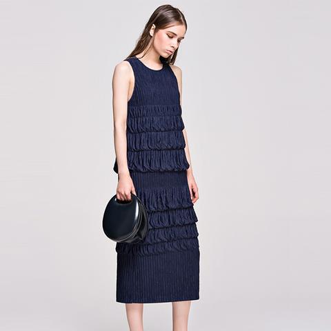 Crinkled Dress