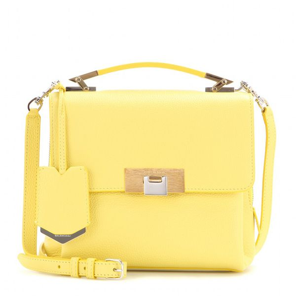 Balenciaga Le Dix Soft Cartable Mini Leather Shoulder Bag