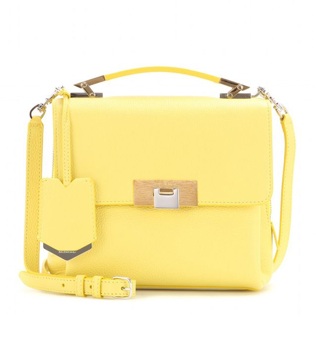 Balenciaga Le Dix Soft Cartable Mini Leather Shoulder Bag