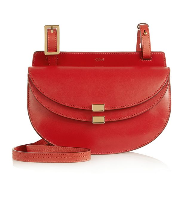 Chloé Georgia Mini Leather Shoulder Bag