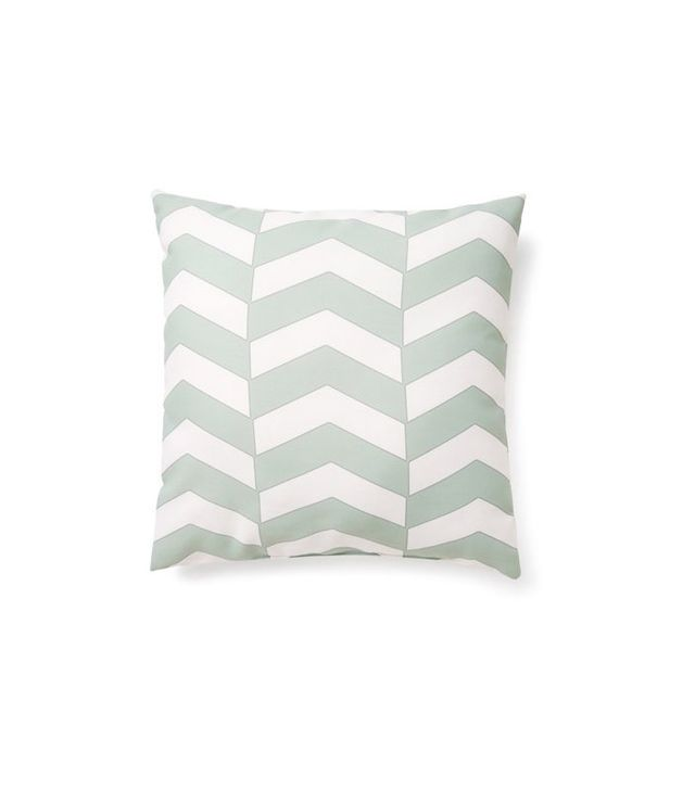 E by Design Chevron Outdoor Pillow