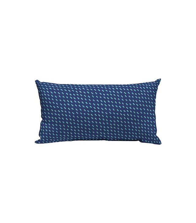 Room Essentials Lumbar Pillow Blue Dash