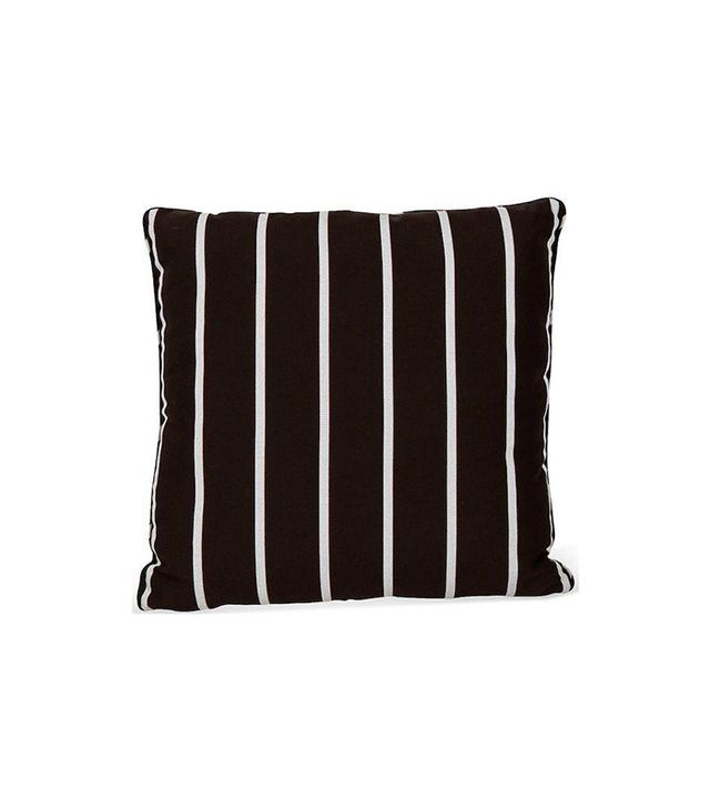 Chairish Brown Striped Outdoor Pillow