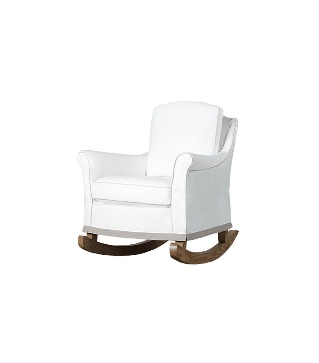 Restoration Hardware Baby and Child Roll Arm Slipcovered Rocker
