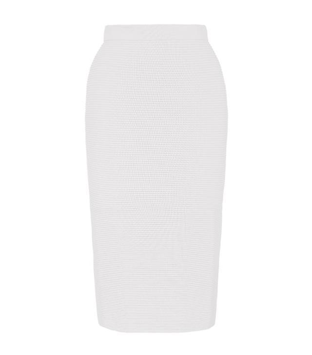 Jonathan Simkhai Knit Rib Pencil Skirt