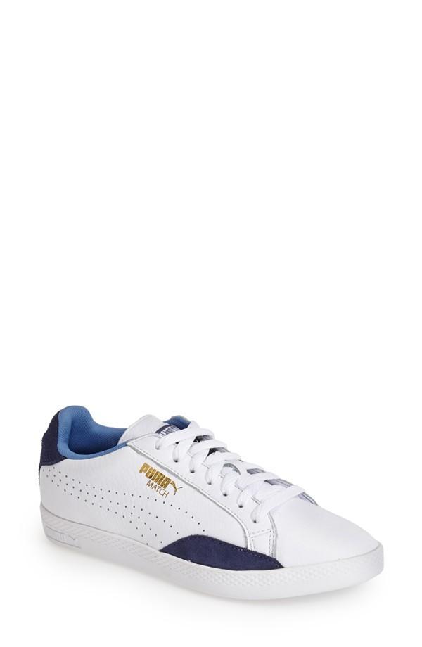 Puma Match Lo Basic Sport Leather Sneaker