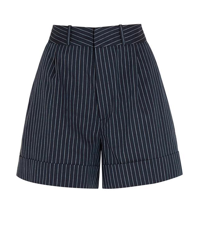 Totême Tanzania Pinstriped Shorts