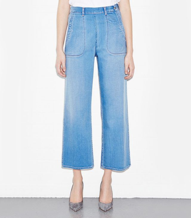 MiH Jeans Chambray Western Pants