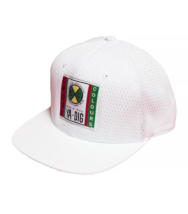 Cross Colours White Mesh Hat