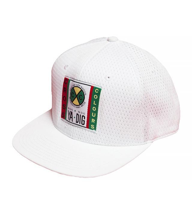 Cross Colours White Mesh Hat
