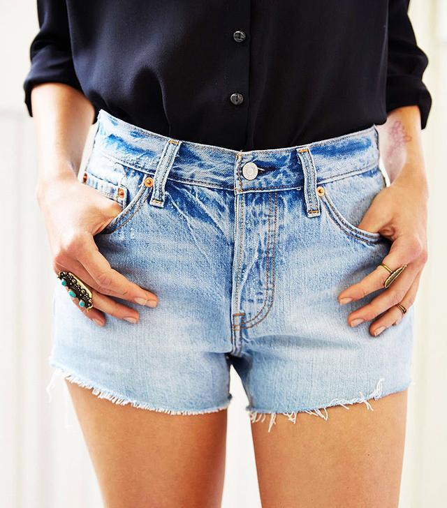 Levi's 501 Slash Cutoff Shorts