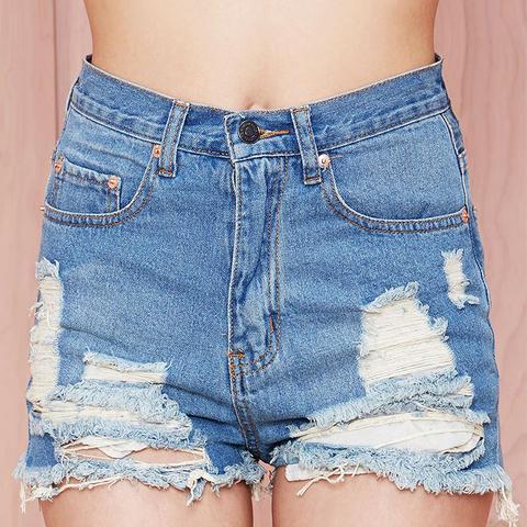 Summer Sky Cutoff Shorts
