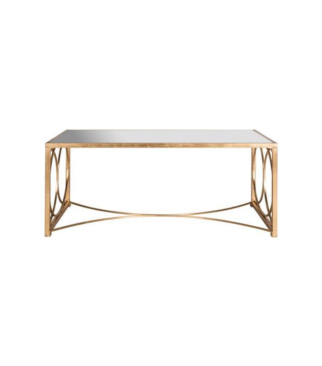 Mia Mirrored Coffee Table