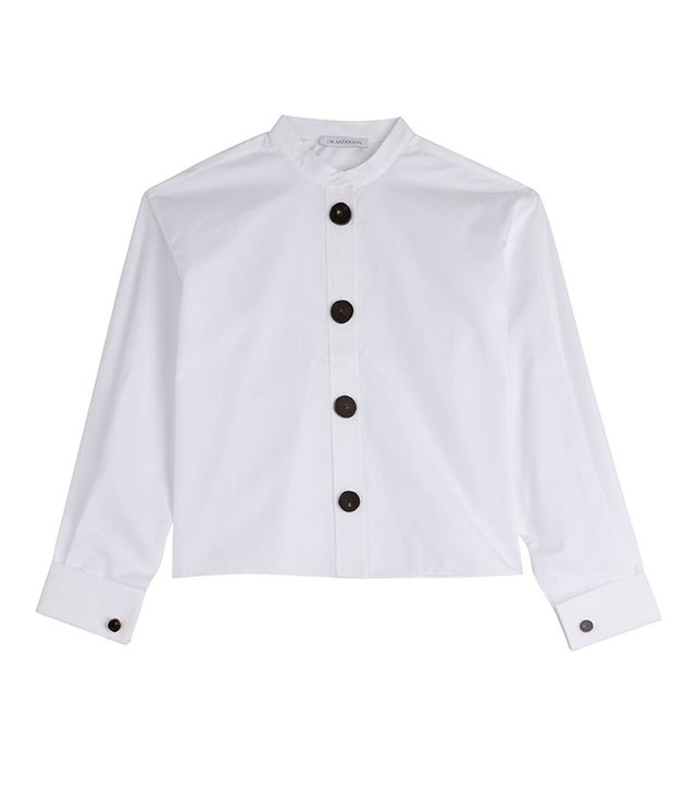 J.W.Anderson Cotton Poplin Button Shirt