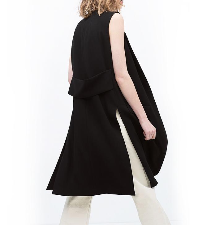 Zara Long Waistcoat With Slits