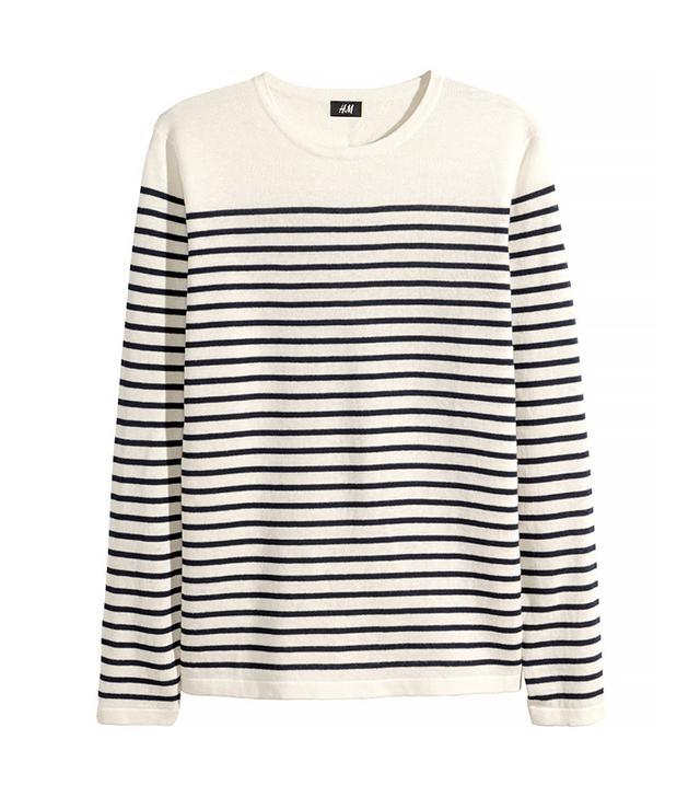 H&M Linen-blend Sweater