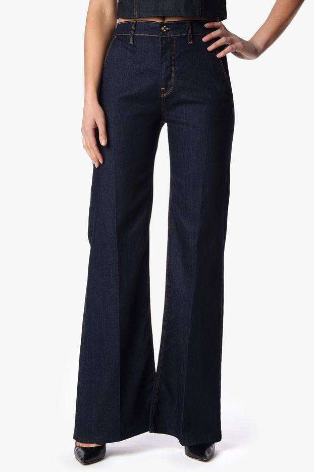 7 for All Mankind High Waist Fashion Trousers