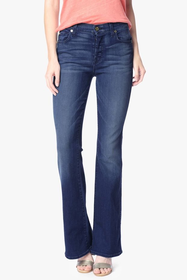 7 for All Mankind The High Waist Vintage Bootcut Jeans