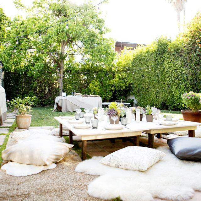 Inside a Boho Backyard Dinner Party