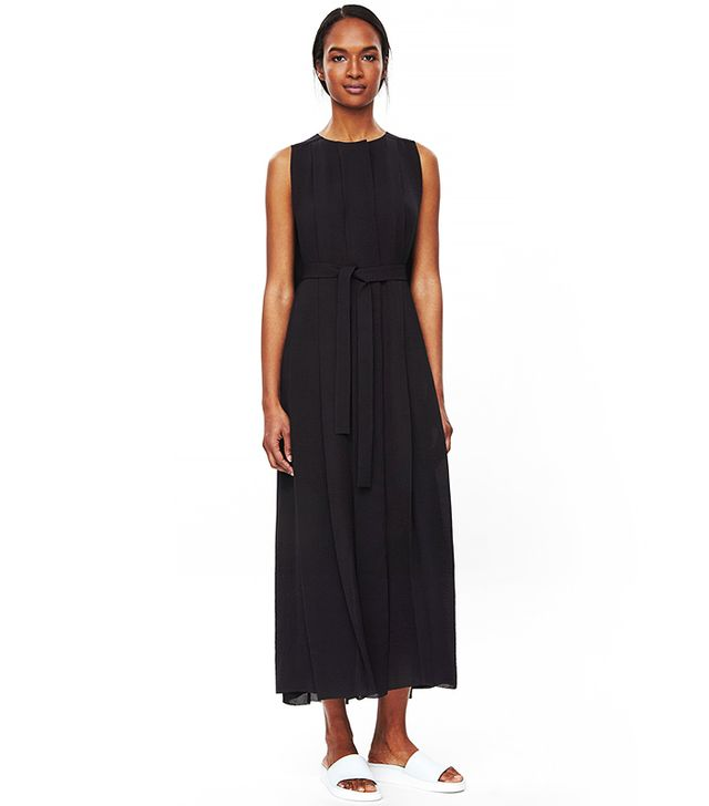 COS Tie-Waist Pleated Dress