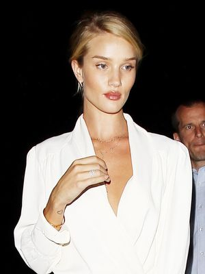 Found: Where to Get Rosie Huntington-Whiteley's Stylish Floral Pants