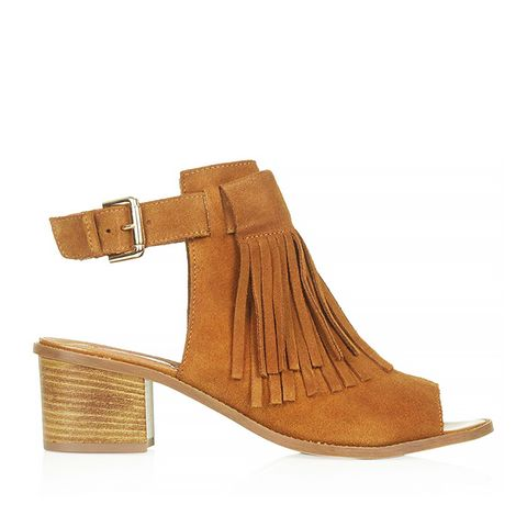 June Fringed Front Shoes