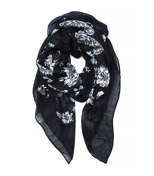 Forever 21 Floral Printed Scarf