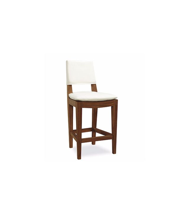 Lee Industries Teak Outdoor Counter Stool