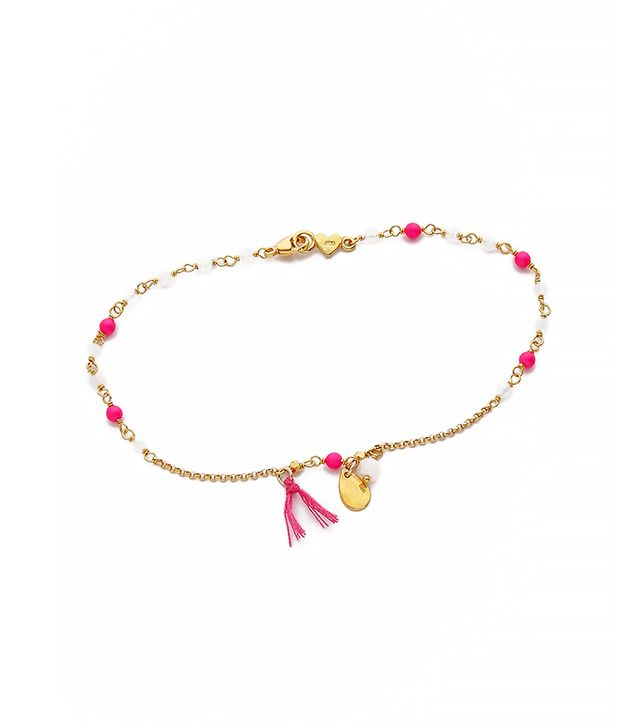 Chan Luu Beaded Charm Anklet