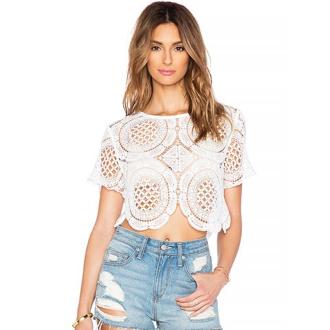 Tapestry Lace Top