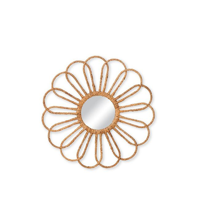 Target Rope-Wrapped Flower Mirror