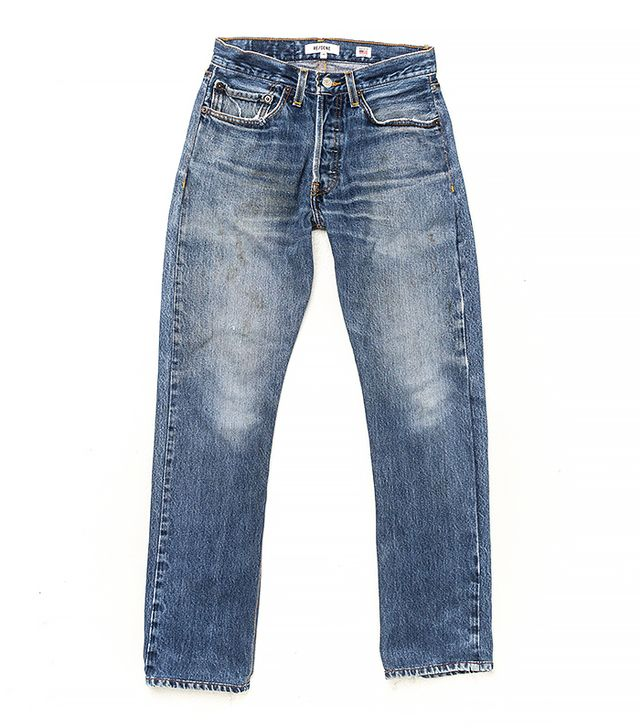 Re/Done High Rise Cropped Jean