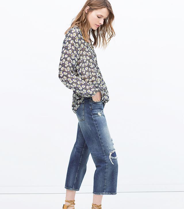 Zara Denim 70s Jeans