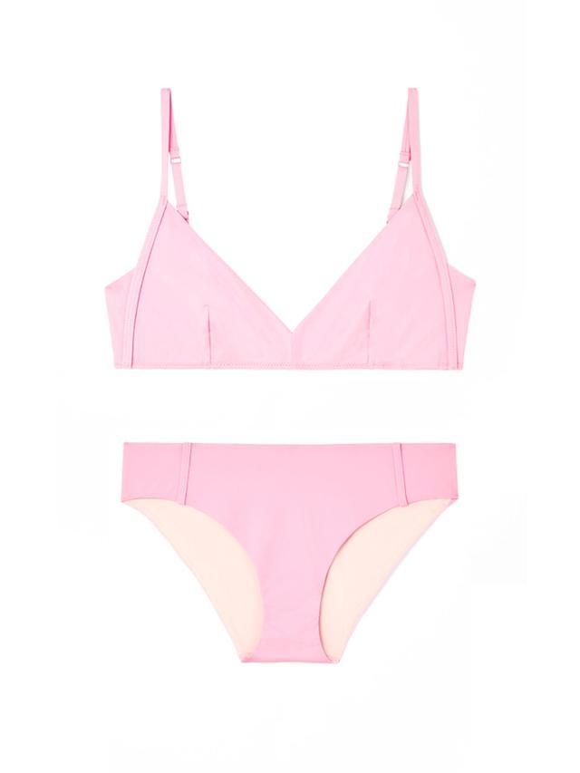 COS Topstitch Bikini Top