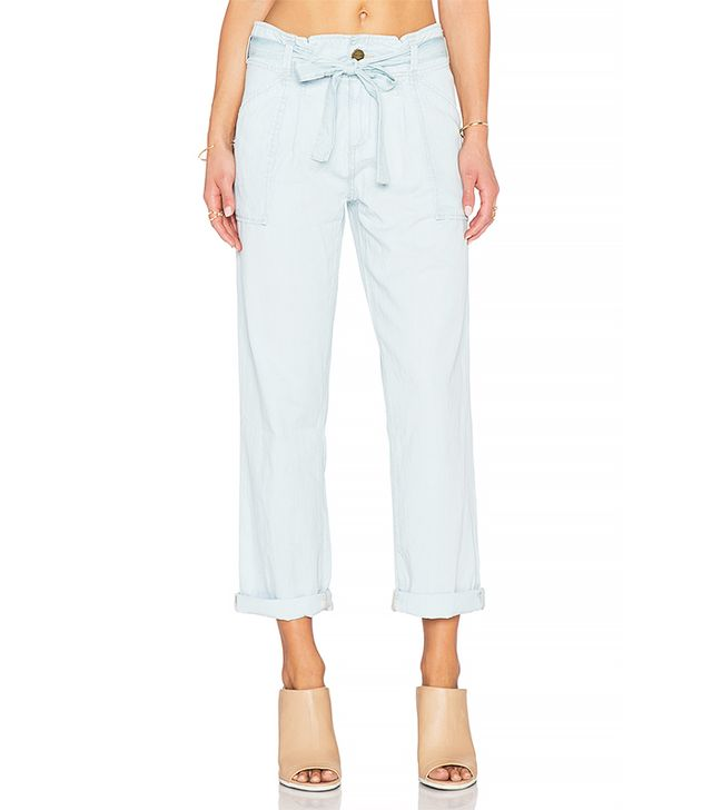 Current/Elliot The Newsboy Pant, Ice Blue
