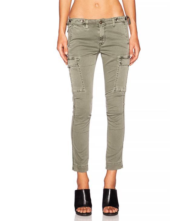 Hudson Jeans Rowan Slouchy Cargo Pant, Juniper