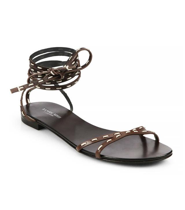 Michael Kors Bale Runway Leather Sandal
