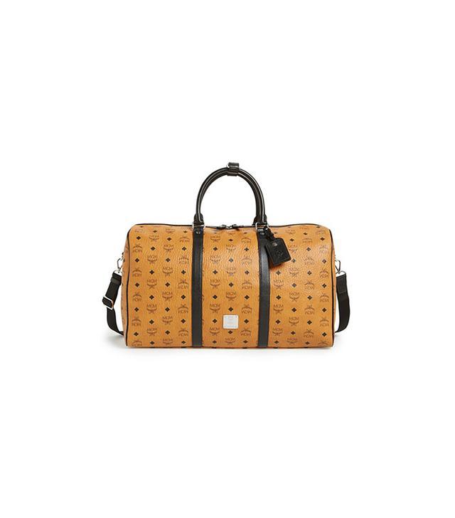 MCM Color Visetos Weekend Duffel Bag