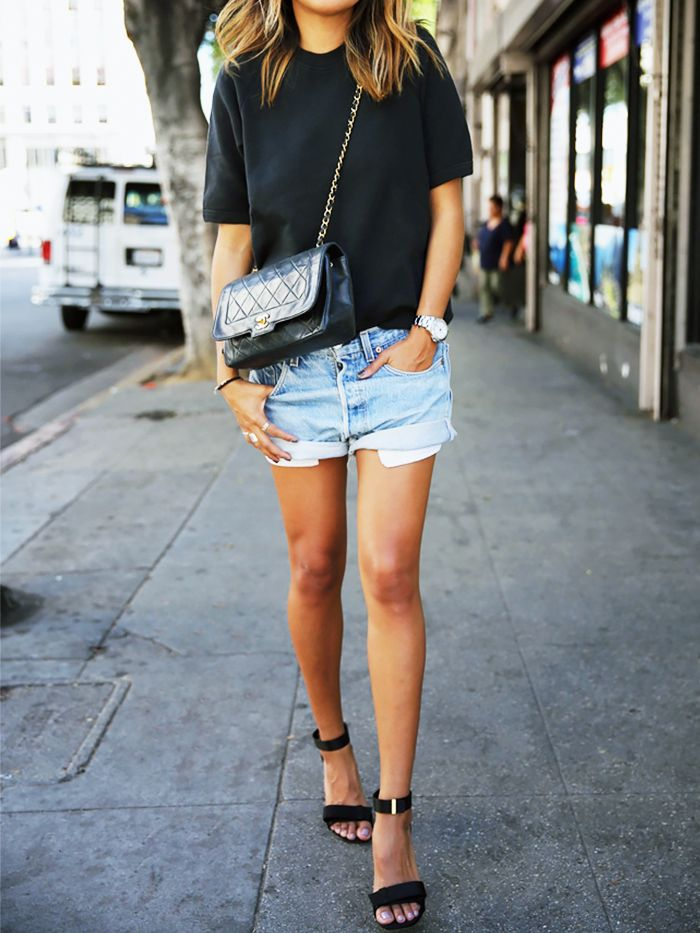 High Heels And Shorts Fashion Do Or Don T Who What Wear