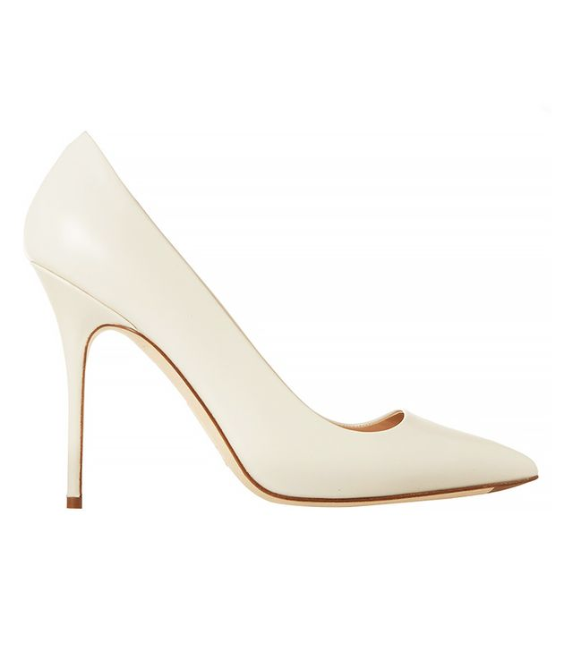 J.Crew Savile Leather Pumps