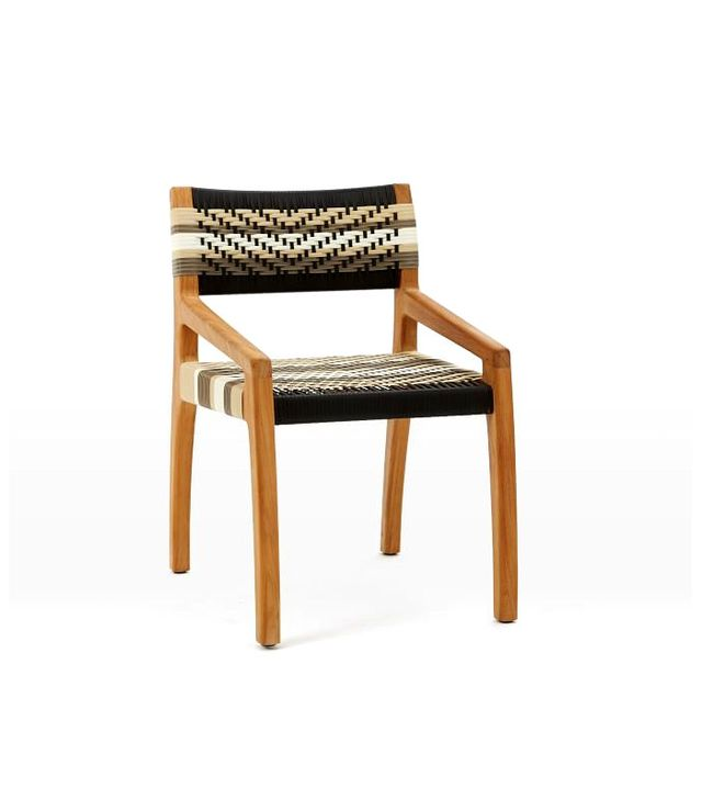 West Elm John Vogel Dining Chair, Teak