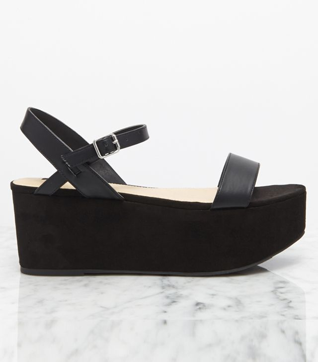 Forever 21 Faux Suede Flatforms