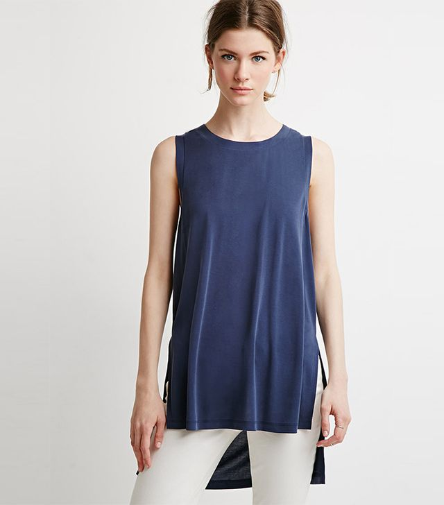 Forever 21 Side Slit Muscle Tee
