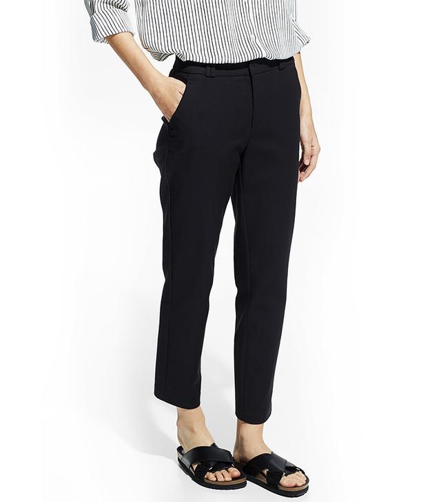 Mango Stretch Cotton Trousers