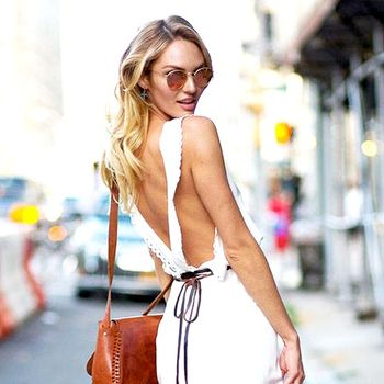 Model-Off-Duty Style: Get Candice Swanepoel's Flirty Summer Look